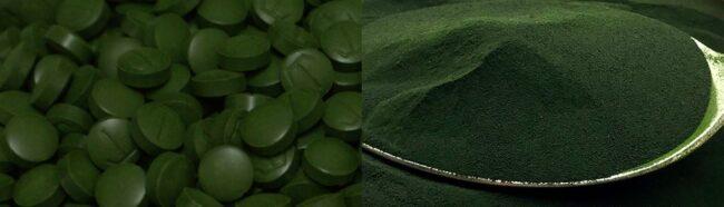 PlantPills chlorella tablets and powder